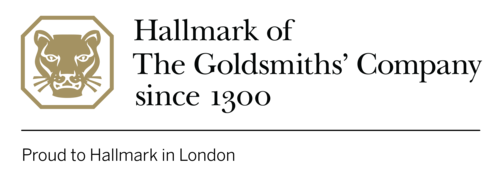Hallmark of The Goldsmiths' Company since 1300. Proud to Hallmark in London